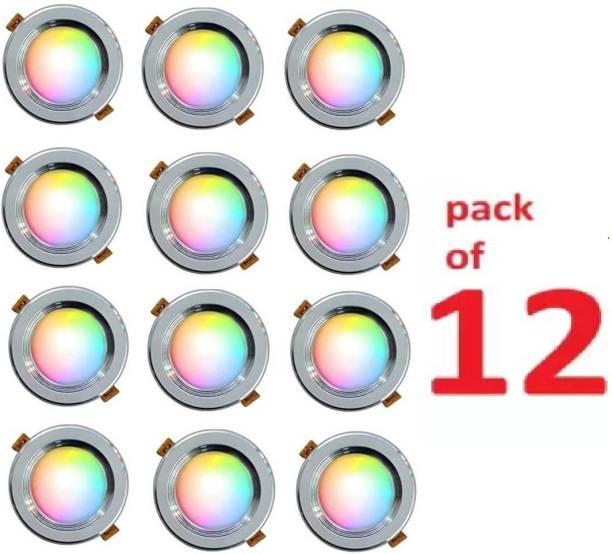 Cosas 9 W Round B22 LED Bulb
