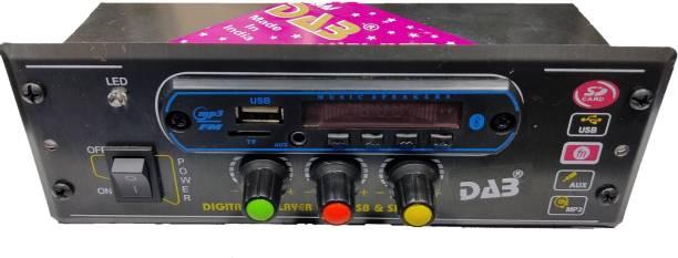 DAB Mini Car USB Patti / Fatti Usb Player Car Stereo Audio Amplifier MP3 Player, Memory Card, USB, FM Radio, Aux in & Remote with Bluetooth, 12 Volt DC, Double 4440 IC Car Stereo