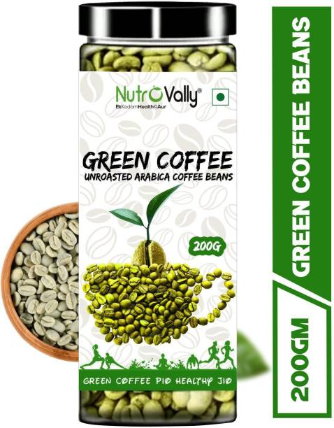 NutroVally Green Coffee Beans for Weight Loss/Fat Lose Instant Coffee