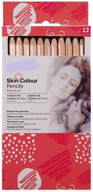 izone 10 mont marte skin color pencil Shaped Color Pencils