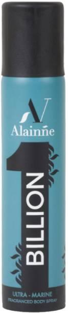 Alainne Billion Ultra- Marine Original Deodorant Spray  -  For Men