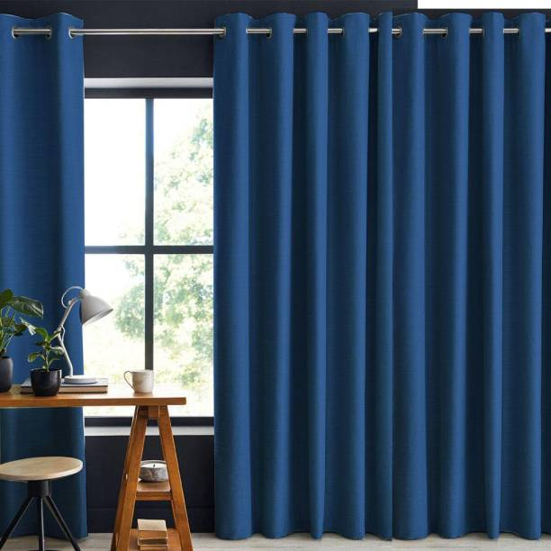 Livpure Smart 152.4 cm (5 ft) Polyester Window Curtain (Pack Of 2)
