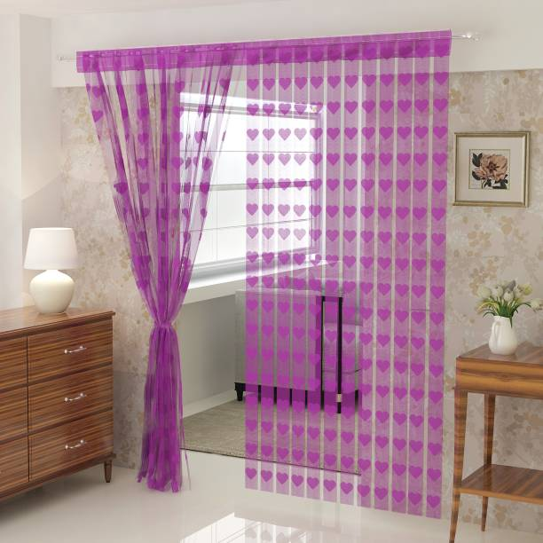 Flipkart SmartBuy 214 cm (7 ft) Polyester Door Curtain Single Curtain