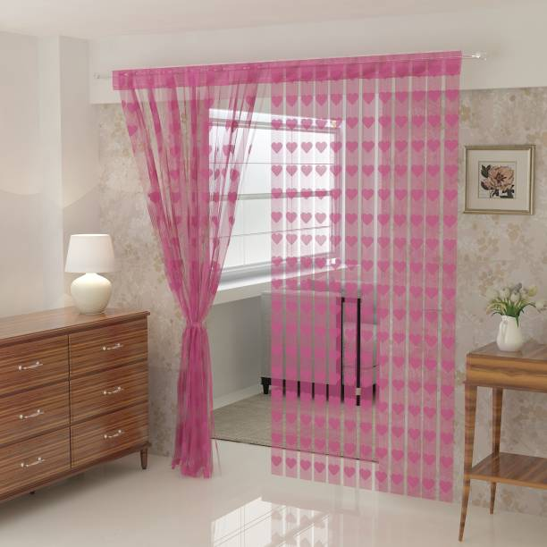Flipkart SmartBuy 214 cm (7 ft) Net Door Curtain Single Curtain