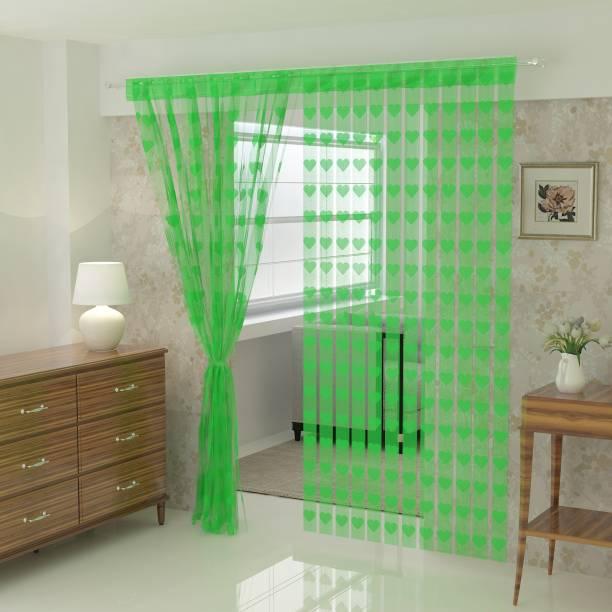 Flipkart SmartBuy 214 cm (7 ft) Net Door Curtain Single Curtain