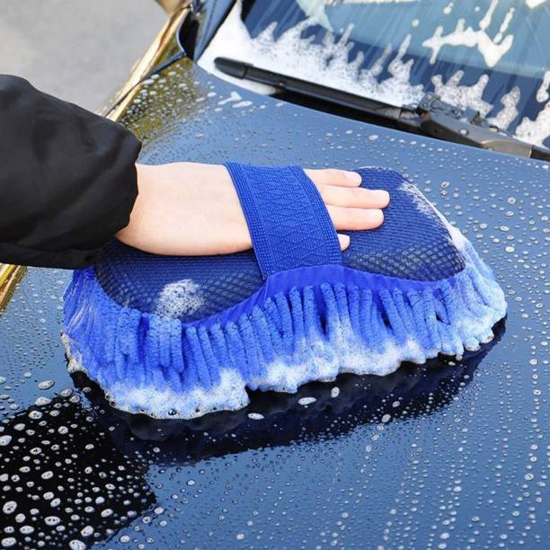Unique Buyer Car, Kitchen, Bike, cleaning GLOVE MITT Good Microfiber Cloth inside so smooth Wet and Dry Glove Set, your hand will be safe inside, put ur hand in & use it as duster for remove all the dust Wet and Dry Glove Set Wet and Dry Glove. Wet and Dry Duster