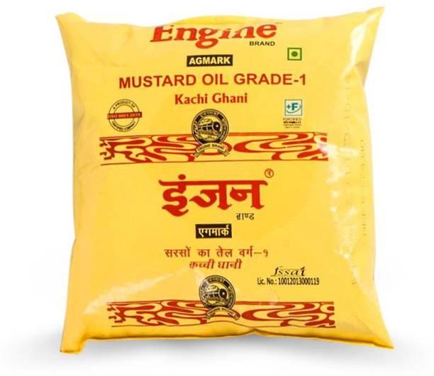 Engine Kachi Ghani Mustard Oil Mustard Oil Pouch