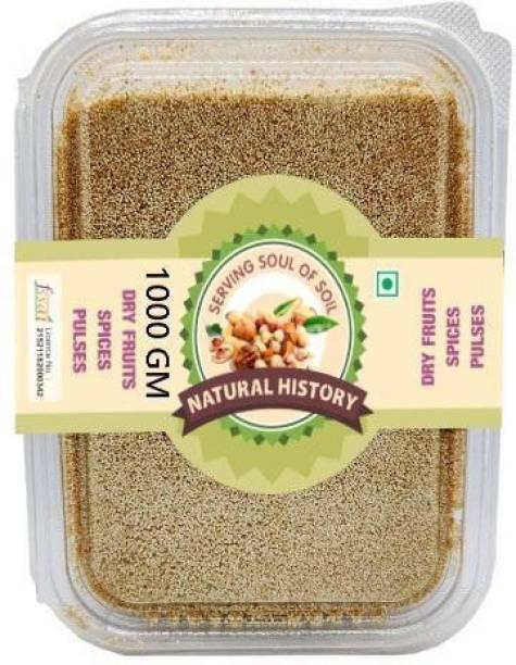 natural history Brand-Poppy seeds (Khus-Khus ) 1000 Gm (Pack Of 1 )