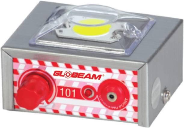Globeam 101 Rechargeable LED Emergency Light 1000 mAh Battery with 5 Watt COB and 7 Step Brightness Adjustment System Through Rotary Knob Torch Emergency Light