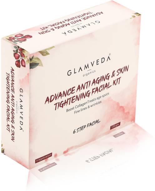 GLAMVEDA Advance Anti Ageing & Skin Tightening Facial Kit