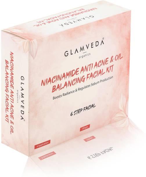GLAMVEDA Niacinamide Anti Acne Facial Kit