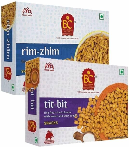 BHIKHARAM CHANDMAL Rim Zhim 425gm & Tit Bit 425gm