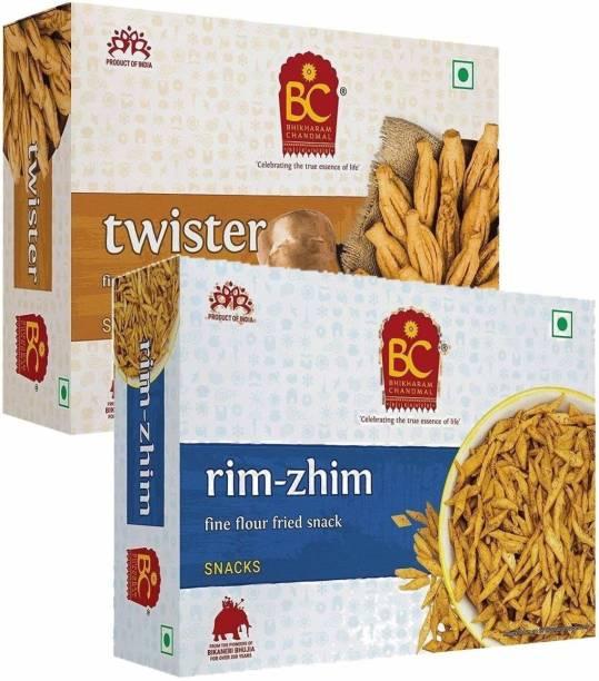 BHIKHARAM CHANDMAL Twister 425gm & Rim Zhim 425gm
