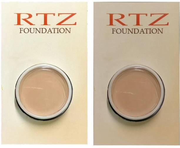 RTZ Ivory with 29 BLUE SHADE FOUNDATION COMBO Foundation