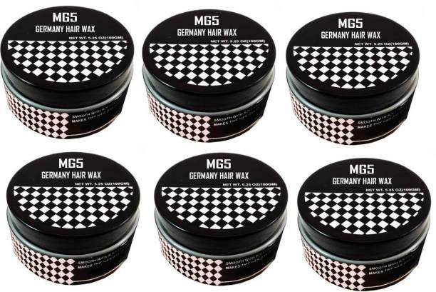MG5 Germany Hair Wax For Hair stylish ( 600 G ) Pack of 6 Hair Wax