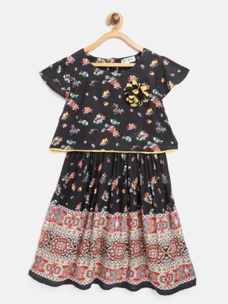 Bella Moda Girls Casual Top Skirt