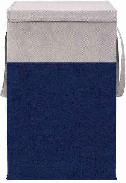 JustandKrafts 75 L Blue Laundry Basket