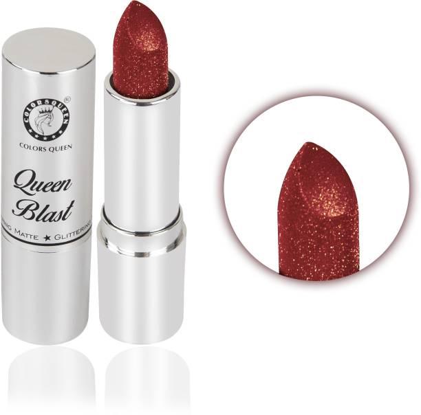 colors queen Queen Blast Glitter Lipstick