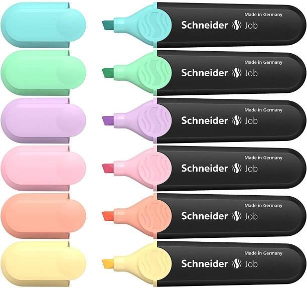 schneider Pastel Job Highlighter Marker