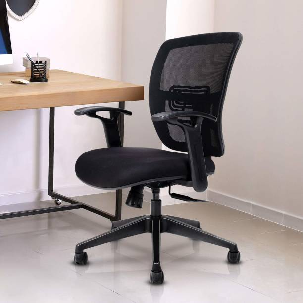 WIPRO Fabric Office Arm Chair