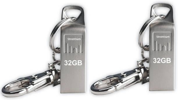 Strontium USB AMMO FLASH DRIVE & PANDRIVE 32 GB Pen Drive