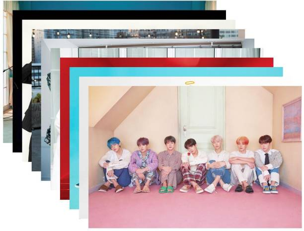 Pack of 10 BTS Band Members Photos | for BTS Fans| HD Quality Photographic Paper