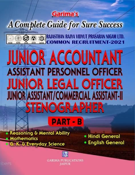Junior Accountant Part B Gen. Knowledge