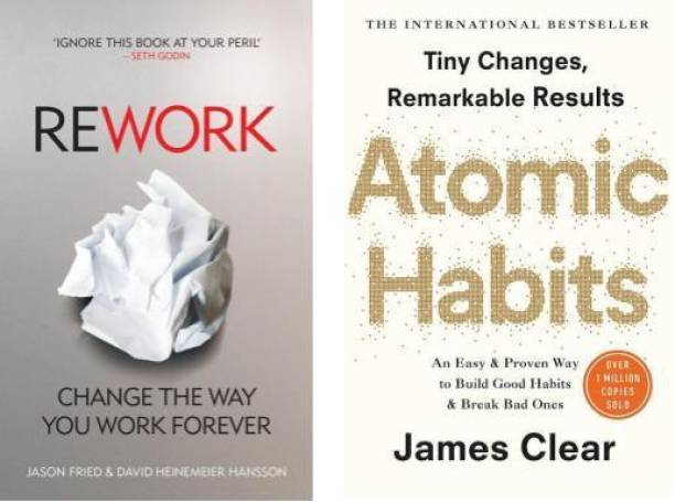 Rework + Atomic Habits