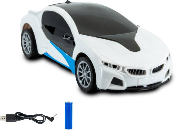 Miss & Chief Chargeable 3D Remote Control Lighting Famous Car for 3+ Years Kids