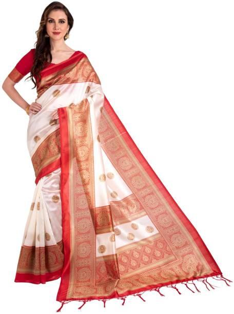 Parvati Creation Printed Mysore Art Silk Saree