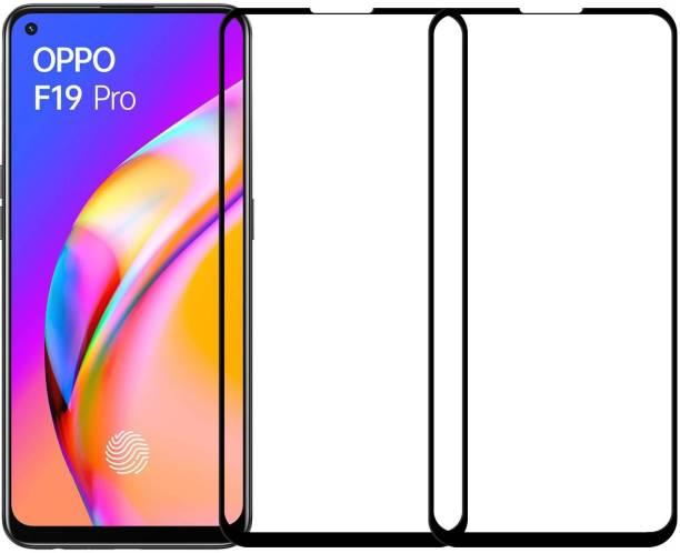 Karpine Edge To Edge Tempered Glass for Oppo F19 Pro