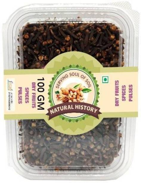 natural history Brand-Whole Cloves (Lavang) 100Gm (Pack Of 1 )