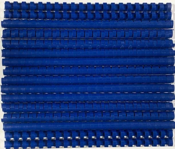 SOFTEK 16MM Binding Combs-Blue Colour pack of -50nos Manual Comb Binder