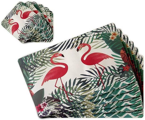 TIED RIBBONS Multicolor PVC Table Linen Set