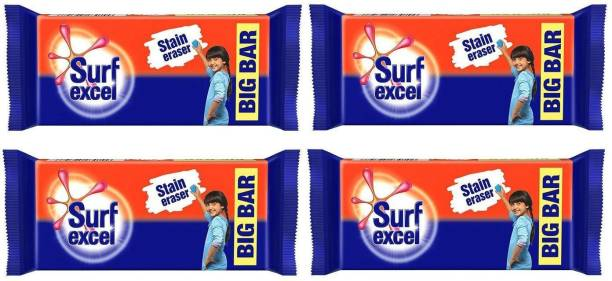 Surf excel Stain Remover (Pack of 04) Detergent Bar