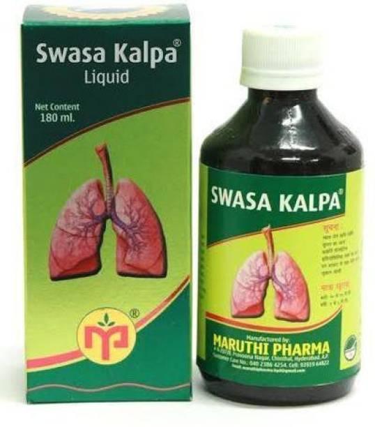 maruthi pharma Swasa Kalpa Syrup (Green, 180ml)