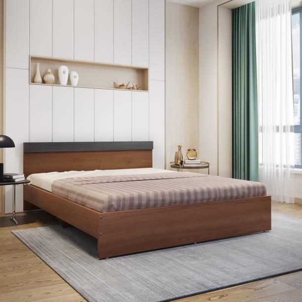 Flipkart Perfect Homes Alice Engineered Wood Queen Bed