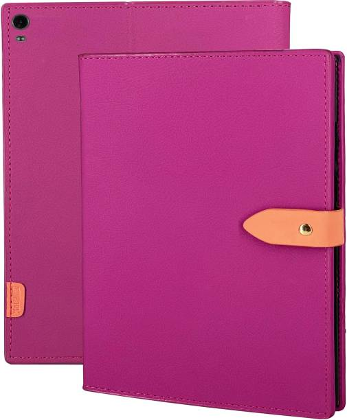 XOLPINK Flip Cover for Lenovo Tab 4 8 Plus 8 Inch TB-8704 / TB-8704F / TB-8704N
