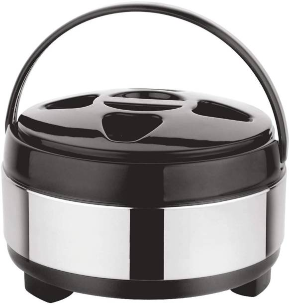 THEWANTS Stainless Steel Insulated Serving Casserole for roti chapati Thermoware Casserole Thermoware Casserole