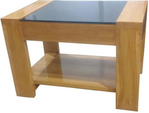 oxtem CT01 Solid Wood Coffee Table