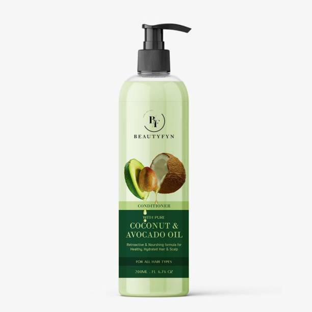 BEAUTYFYN Deep Conditioner with Coconut & Avocado Oil - No Parabens & Sulphate