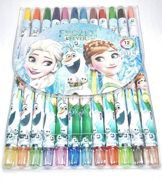 V&G TRADERS frozen Roller Erasable Crayon for Girls an boys