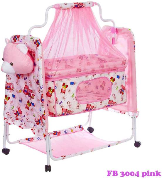 Fun Baby Newborn Baby Little Nest Bassinet Cradle with Mosquito Net-Canopy and bottle stand Recommened For Cradle For Baby With Net And Swing kids Cradle Baby Cradle Mosquito Net Cradle baby cradle jhula swing