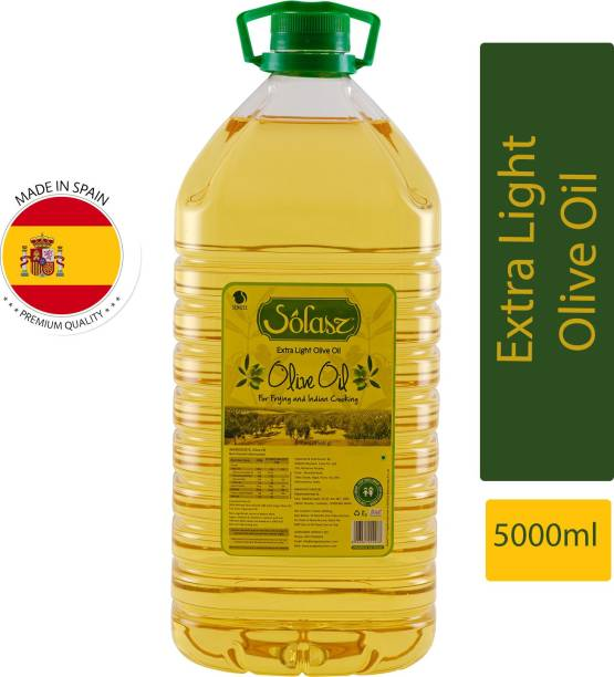 Solasz Extra Light 5 Litres Olive Oil PET Bottle