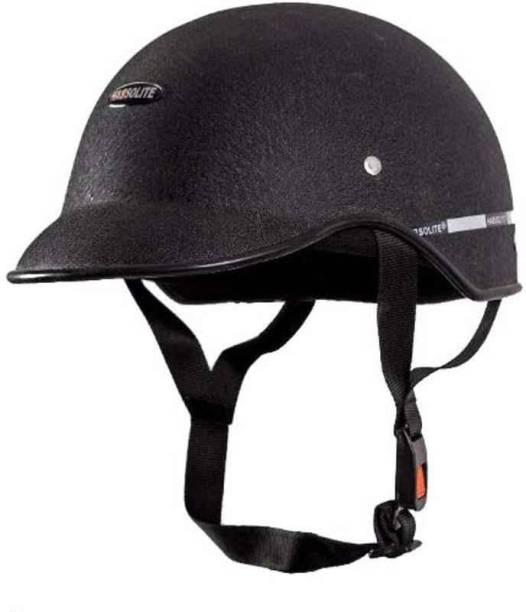 SDF ITB UNISEX Black mini wrinkle HELMET CAP Motomet Motorbike Helmet (Black) Motorbike Helmet