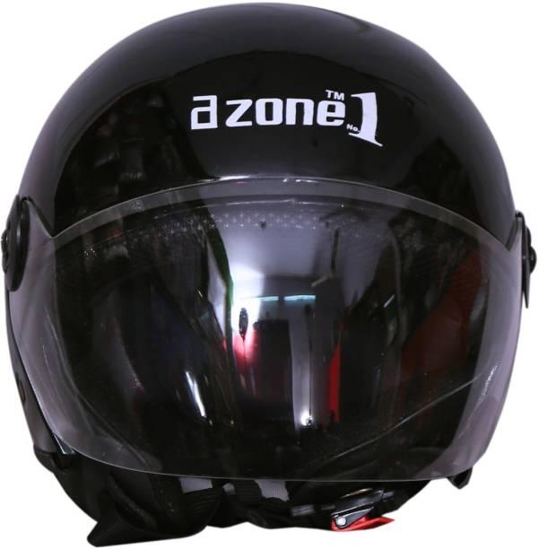 azone1 Open-Face Men & Women Scooty & Bike Riding Unbreakable Motorbike Helmet Motorbike Helmet