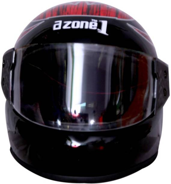 azone1 Full-Face Men & Boys Bike Riding Unbreakable Motorbike Helmet Motorbike Helmet