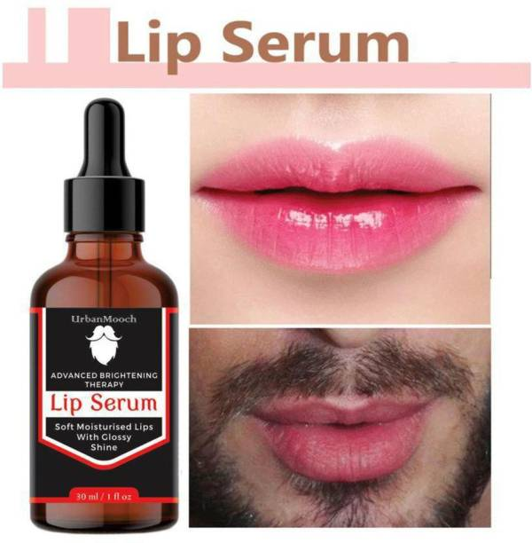 UrbanMooch Advanced Brightning Lip Serum For Glossy & Shiny Lips with moisturisation effet- For Men and Women - strawberry