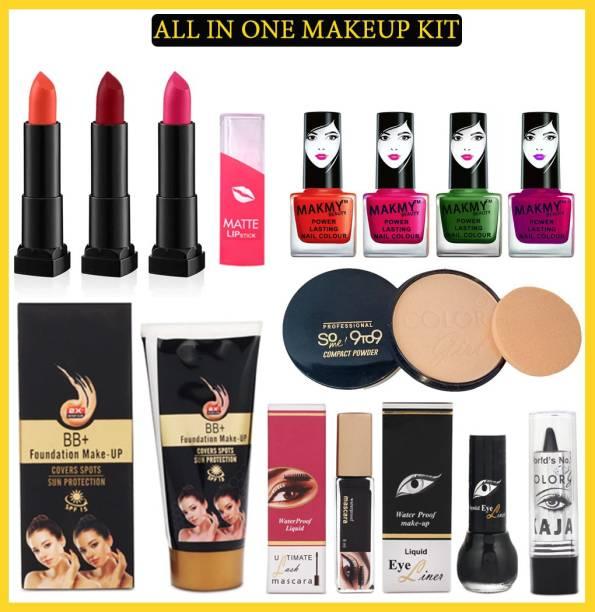 MAKMY BEAUTY All In One Makeup Kit Set of 12 For Women MBMKD219
