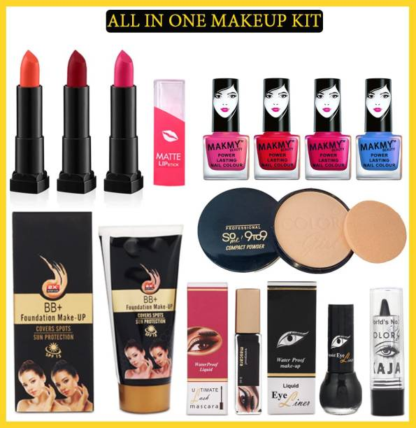 MAKMY BEAUTY All In One Makeup Kit Set of 12 For Women MBMKD177